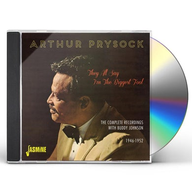 Arthur Prysock THEY ALL SAY I'M THE BIGGEST FOOL:COMPLETE RECORDI CD