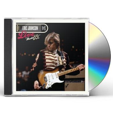 Eric Johnson LIVE FROM AUSTIN TEXAS CD