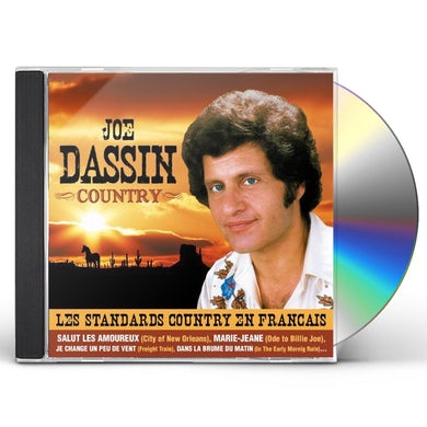 Joe Dassin COUNTRY CD