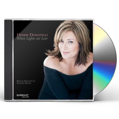 Denise Donatelli WHEN LIGHTS ARE LOW CD