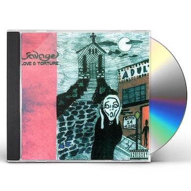 Savage LOVE & TORTURE CD