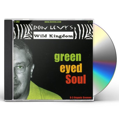 Ron Levy GREEN EYED SOUL CD