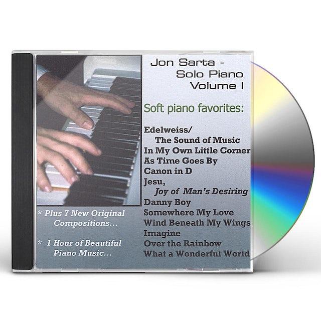Jon Sarta SOLO PIANO VOLUME I CD