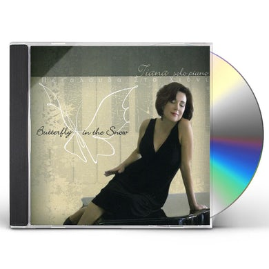 Tiana BUTTERFLY IN THE SNOW CD