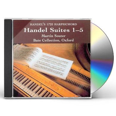 HANDEL SUITES CD