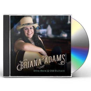 Briana Adams DIVE BARS & OLD GUITARS CD