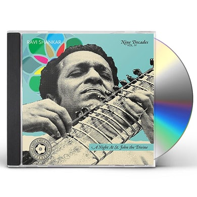 Ravi Shankar NIGHT AT ST. JOHN THE DIVINE-NINE DECADES-4 CD