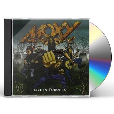 Moxy LIVE IN TORONTO CD