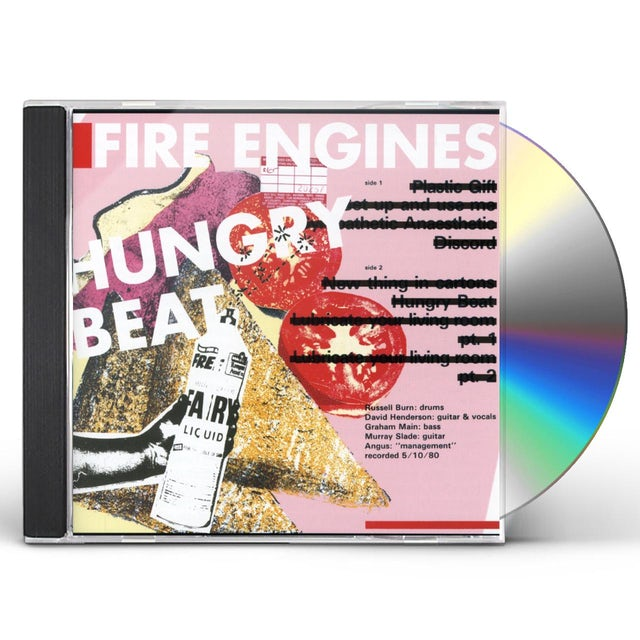 Fire Engines HUNGRY BEAT CD