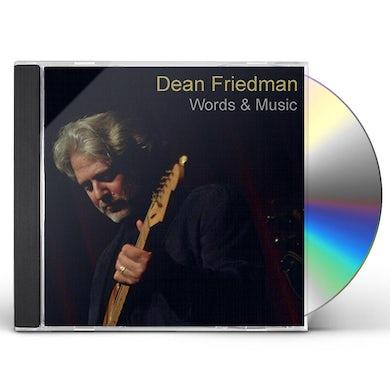 Dean Friedman WORDS & MUSIC CD