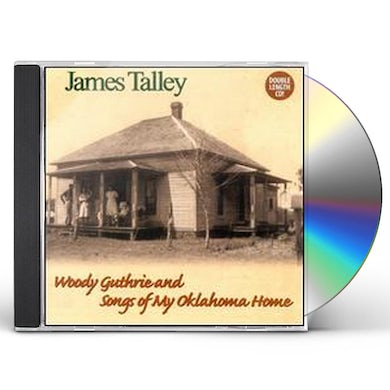 WOODY GUTHRIE & SONGS OF MY OKLAHOMA HOME CD