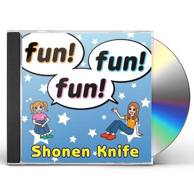 Shonen Knife FUN FUN FUN CD