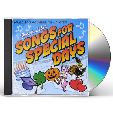 Frank Leto SONGS FOR SPECIAL DAYS CD