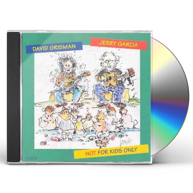 Jerry Garcia / David Grisman NOT FOR KIDS ONLY CD