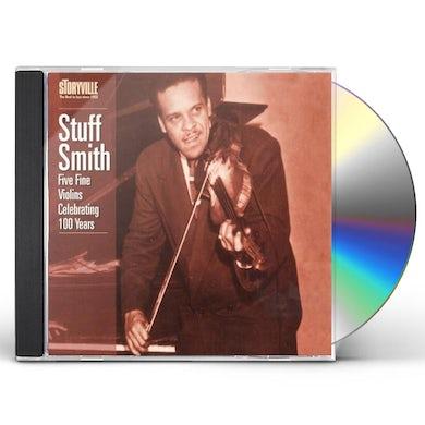 Stuff Smith FIVE FINE VIOLINS: CELEBRATING 100 YEARS CD
