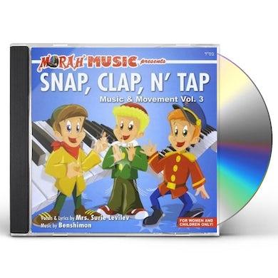 Surie Levilev SNAP CLAP N' TAP-MUSIC & MOVEMENT 3 CD