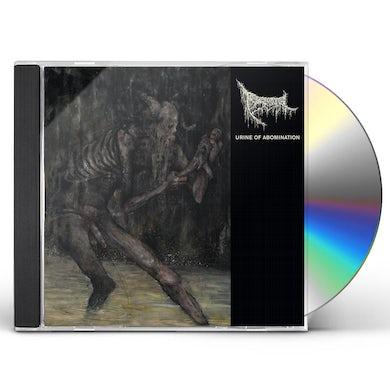 Triumvir Foul URINE OF ABOMINATION CD