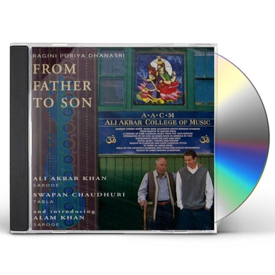 Ali Akbar Khan FROM FATHER TO SON CD