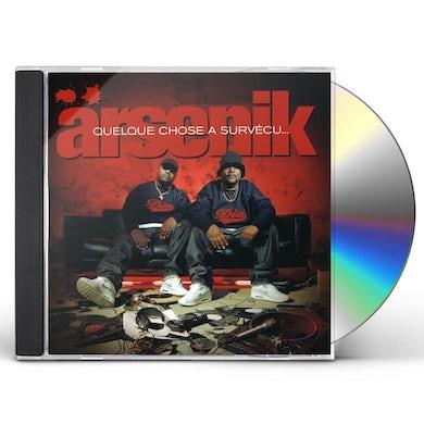 Arsenik QUELQUE CHOSE SURVECU CD