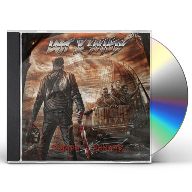 Lost Society TERROR HUNGRY CD
