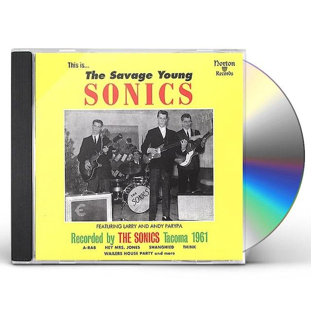 SAVAGE YOUNG SONICS CD