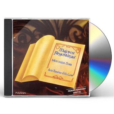 Mercedes Sosa MUJERES ARGENTINAS CD