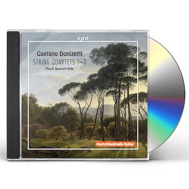 Donizetti STRING QUARTETS CD