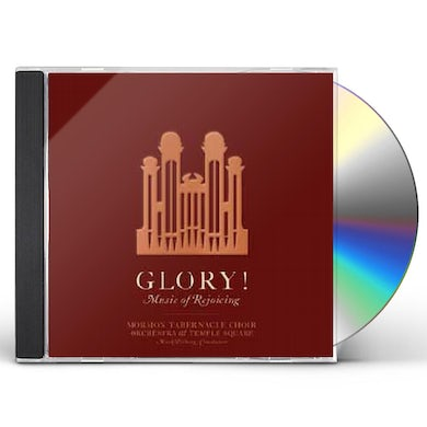 Mormon Tabernacle Choir GLORY MUSIC OF REJOICING CD