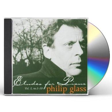 Glass PIANO ETUDES 1 CD