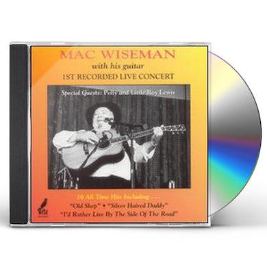Mac Wiseman LIVE CONCERT CD