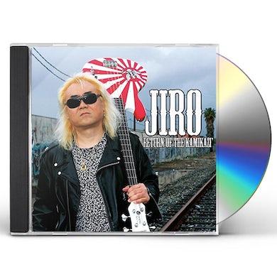 JIRO RETURN OF THE KAMIKAZI CD