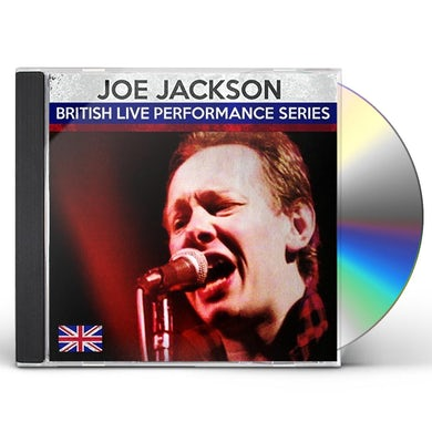 Joe Jackson BRISTISH LIVE PERFORMANCE SERIES CD