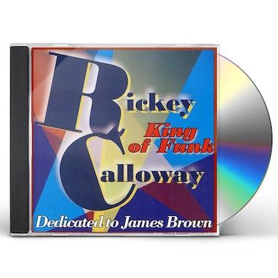 Rickey Calloway KING OF FUNK CD