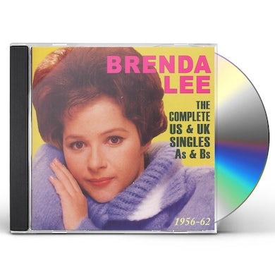 Brenda Lee COMPLETE US & UK SINGLES AS & BS 1956-62 CD