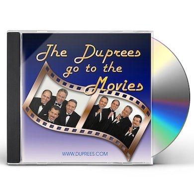 Duprees GO TO THE MOVIES CD