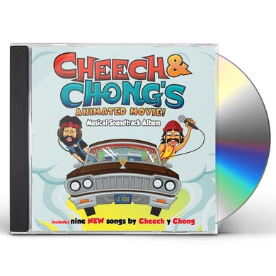 CHEECH & CHONG'S ANIMATED MOVIE CD