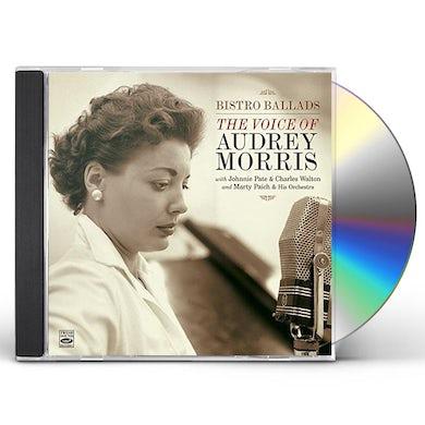 BISTRO BALLADS / VOICE OF AUDREY MORRIS CD