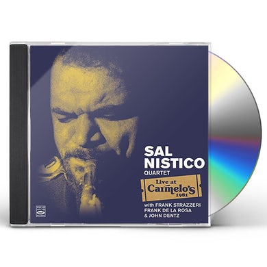 Sal Nistico LIVE AT CARMELO'S CD
