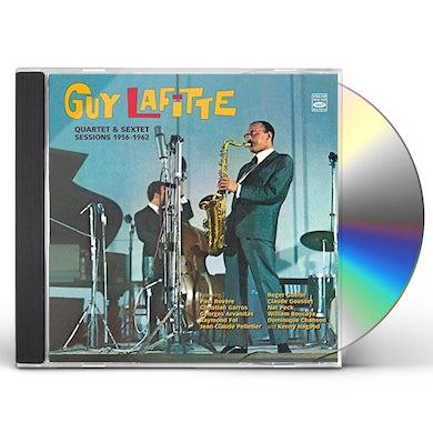 Guy Lafitte QUARTET & SEXTET 1956-1962 CD