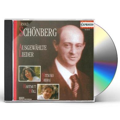 Schoenberg SELECTED LIEDER CD