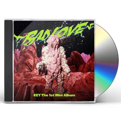 Key BAD LOVE (PHOTOBOOK C VERSION) (RANDOM COVER) CD