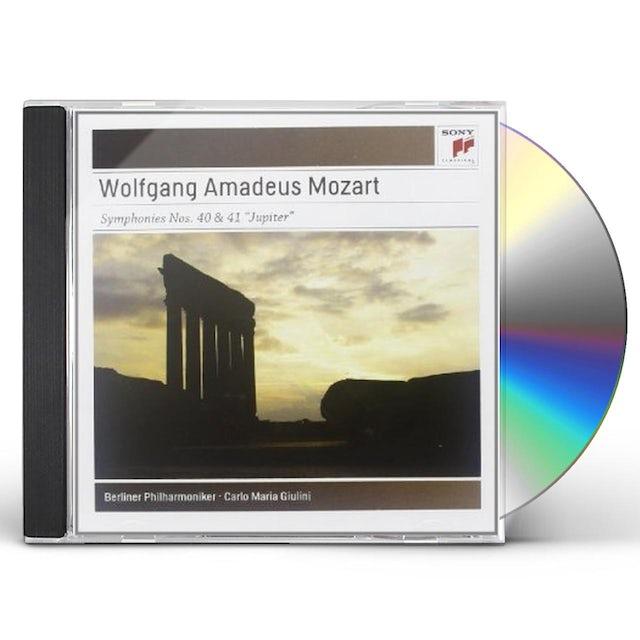 Mozart / Carlo Maria Giulini SYMPHONIES NOS. 40 & 41 CD