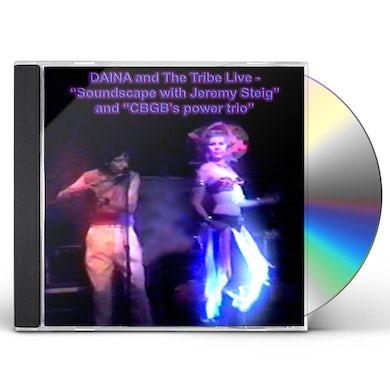 Soundscape DAINA & THE TRIBE (LIVE) [FEAT. DAINA SHUKIS] CD