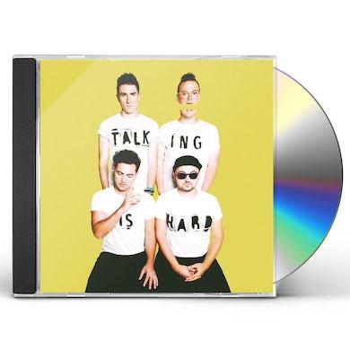 Walk The Moon TALKING IS HARD CD