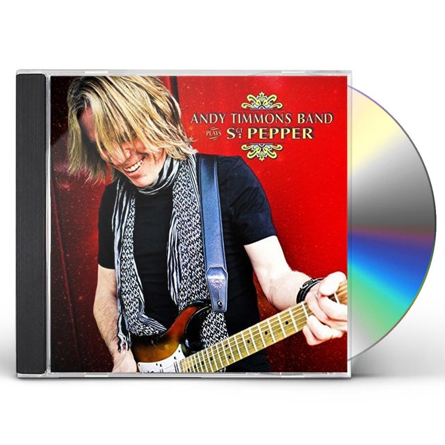 Andy Timmons Band PLAYS SGT PEPPER CD