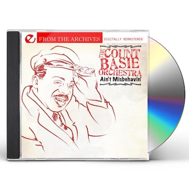 Count Basie AIN'T MISBEHAVIN' - FROM THE ARCHIVES CD