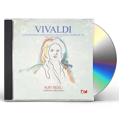 Vivaldi CONCERTO FOR STRINGS & CONTINUO IN G MAJOR RV CD