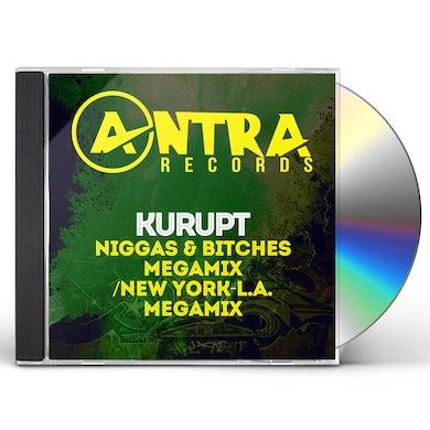 Kurupt NIGGAS & BITCHES MEGAMIX / NEW YORK-L.A. MEGAMIX CD