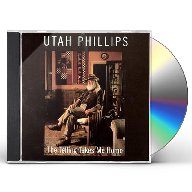 Utah Phillips TELLING TAKES ME HOME CD