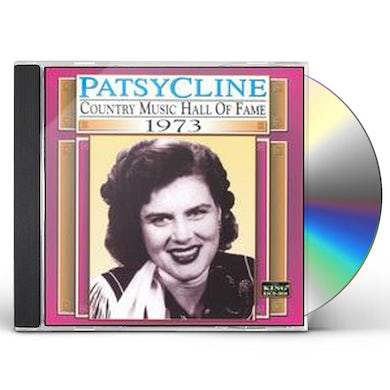 Patsy Cline COUNTRY MUSIC HALL OF FAME 1973 CD